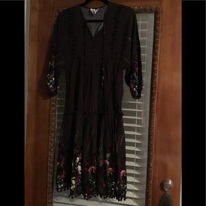 JAASE Dress for the Modern Boho. Pretty Purple XS